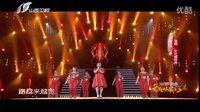 云裳广场舞团 山西卫视歌从黄河来助阵百灵 现场教周玮跳广场舞