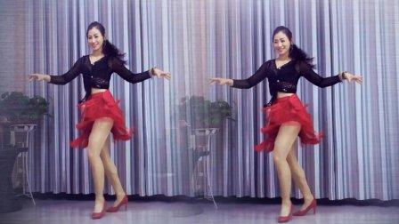 青青世界广场舞《你让我疯狂》恰恰高清