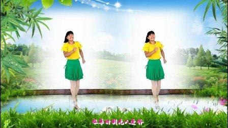 河北青青广场舞《错过了缘分错过了你》32步附教学