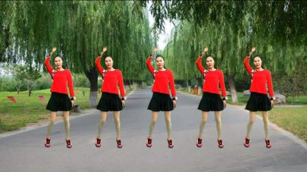 《耶耶耶》欢快节奏 简单易学 新手入门第一课 名师教你跳广场舞