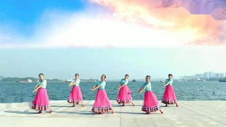 旭秋广场舞《慈祥的母亲》团队版