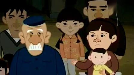 《武松打虎》侯宝林动画相声 逗笑全场观众