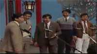 《五官争功》马季 赵炎 王金宝 冯巩 刘伟群口相声5人剧本搞笑包袱太多了