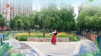云裳广场舞《情歌呀啦嗦》原创欢快好看藏族舞