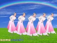 玫香广场舞原创《想思千山万水》正背面附教学