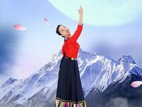 糖豆广场舞课堂《圣洁与你同在》藏族舞一看就会