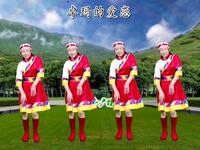 藏族广场舞《卓玛的爱恋》优美动听简单好看附教学